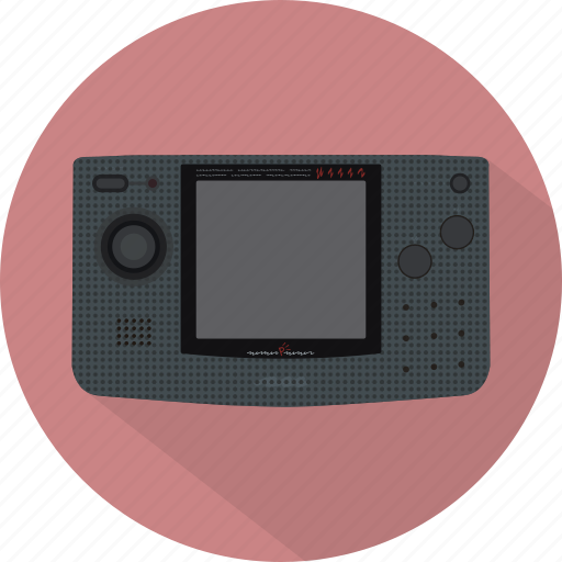 console, game, gamepad, neo geo, neogeopocket, pad icon