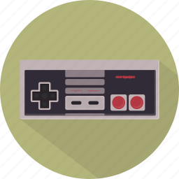controller, game, gamepad, nes, nintendo, pad, retro icon