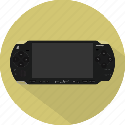 console, game, gamepad, pad, playstation, psp, sony icon