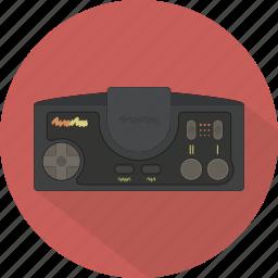 console, controller, game, gamepad, pad, retro, turbografx icon