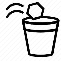 game, papertoss icon