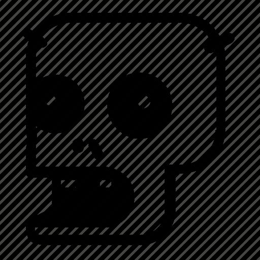 game, zombie icon