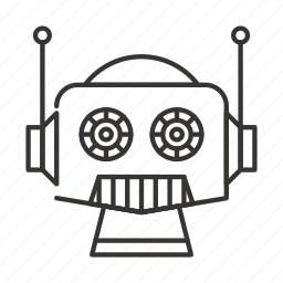 android, machine, robot, robotic, technology icon