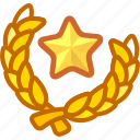 badge, congratulations, game, grade, rank, upgrade icon