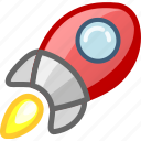 console, game, games, gaming, missile, space, spaceship icon