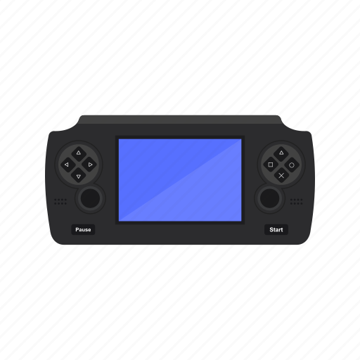 fun, game, play, screen, station, video icon