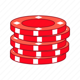 casino, chip, chips, gambling, game, poker, stack icon