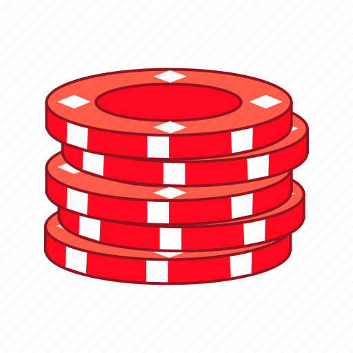 casino, chip, chips, gambling, game, poker, stack icon