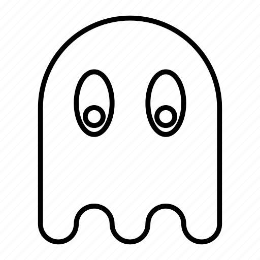 free time, fun, game, ghost, holiday, videogame icon