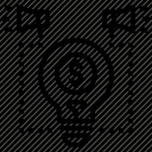 announce, business, creative, idea, marketing icon