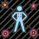 badge, level, rank, title, token