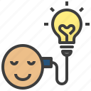 bulb, creative, idea, innovation, knowledge icon