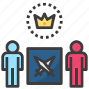 battle, challenge, competition, contest, participation icon