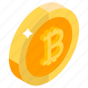 bitcoin, bitcoin wealth, cryptocurrency, digital bitcoin, digital wealth icon