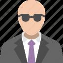 avatar, enforcer, person, police, policeman, profile, user