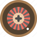 game, media, panah, play, roulette icon