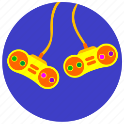 control, dual, game, joystick, kid icon
