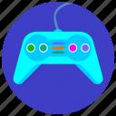 control, design, game, joystick, modern, play icon