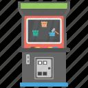 bingo, bingo game, gaming machine, slot machine, video bingo icon