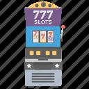 casino, poker machine, progressive machine, reel slot machine, slot machine icon