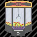 big berthas, claw game, claw machine, prize game, slot machine icon
