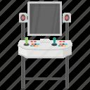 arcade game, controller game, joystick arcade, slot machine, video game icon