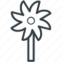 child, children, fun, kid, toy windmill icon