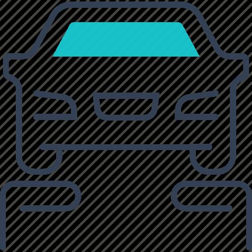 car, garage, service, transport icon
