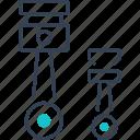 car, details, garage, tool icon