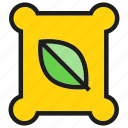 fertilizer, garden, leaf icon