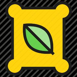 fertilizer, garden, leaf icon