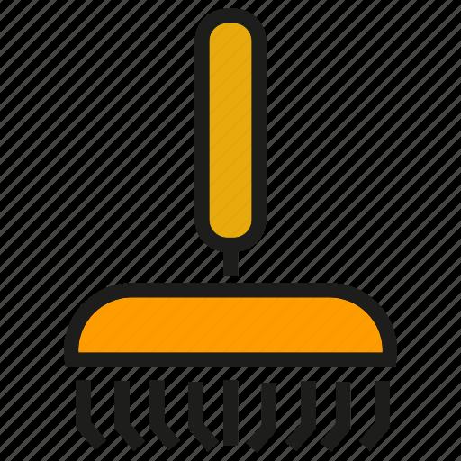 garden tool, mattock, pickax, shovel, spade icon