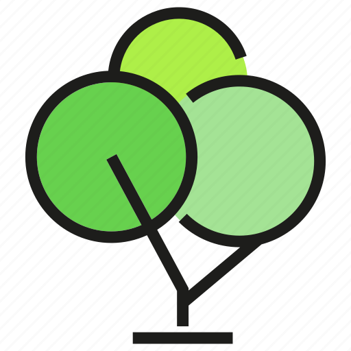 environment, nature, plant, tree icon