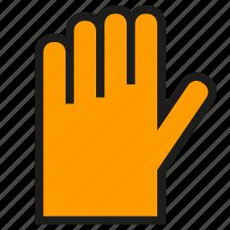 glove, hand icon