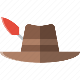 flower, garden, hat, plant, soil icon
