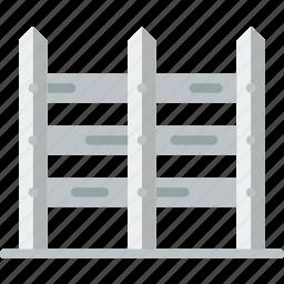 fence, flower, garden, plant, soil icon
