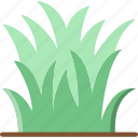 flower, garden, grass, plant, soil icon
