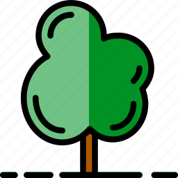 flower, garden, plant, soil, tree icon