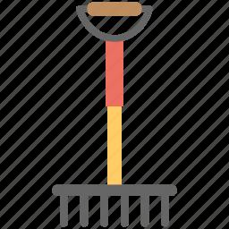 digging, digging fork, digging instrument, instrument, plantation icon