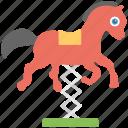 horse, horse swing, kids swing, swing, swing icon icon