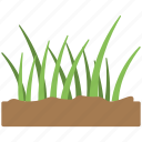 fertile soil, grass, grass icon, green grass, soil icon