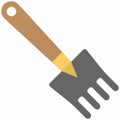 cultivator, digging, digging fork, digging tool, plants icon