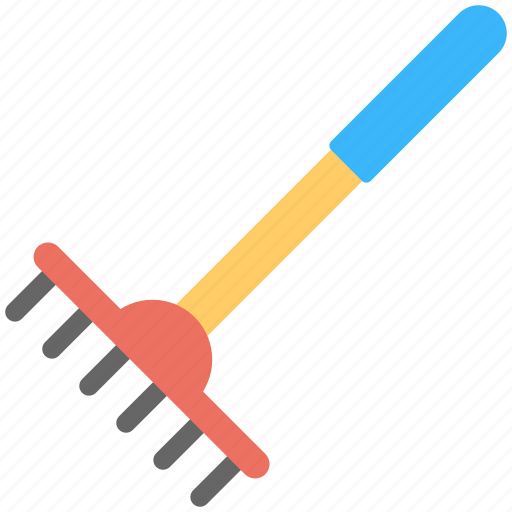 cultivator, digging fork, digging tool, metal tool, planting icon
