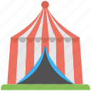 garden tent, human shelter, red tent, small shelter, tent icon