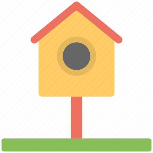 bird nest, birst house, hut, nest box, nest house icon