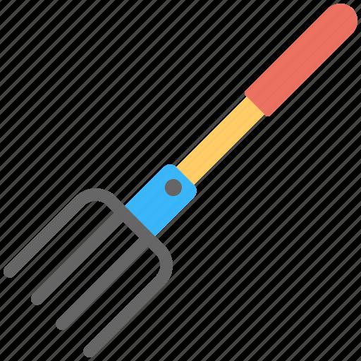 cultivator, digging, digging fork, digging soil, digging tool icon