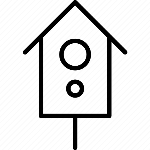 bird, home, house, nature, nest, shelter, wood icon