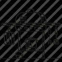 bbq, garden, park, picnic icon
