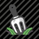 agriculture, fork, garden, garden fork, gardening, pitchfork, shovel icon