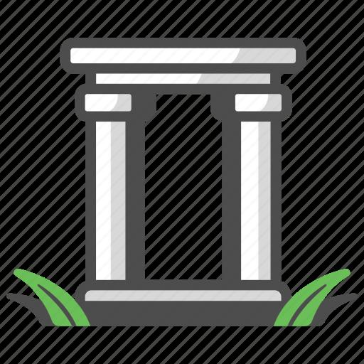 garden, gazebo, house, park, pavilion, pergola, porch icon